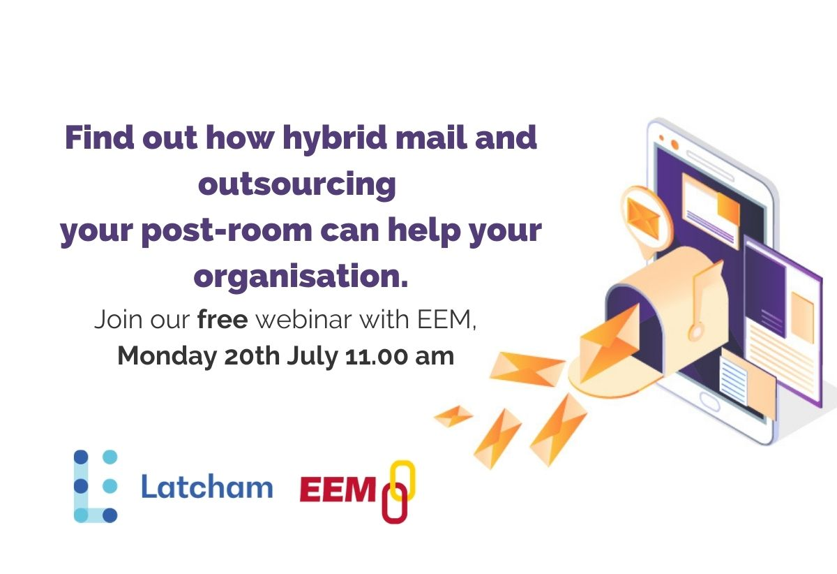 The operational and financial benefits of outsourcing your post room via hybrid mail