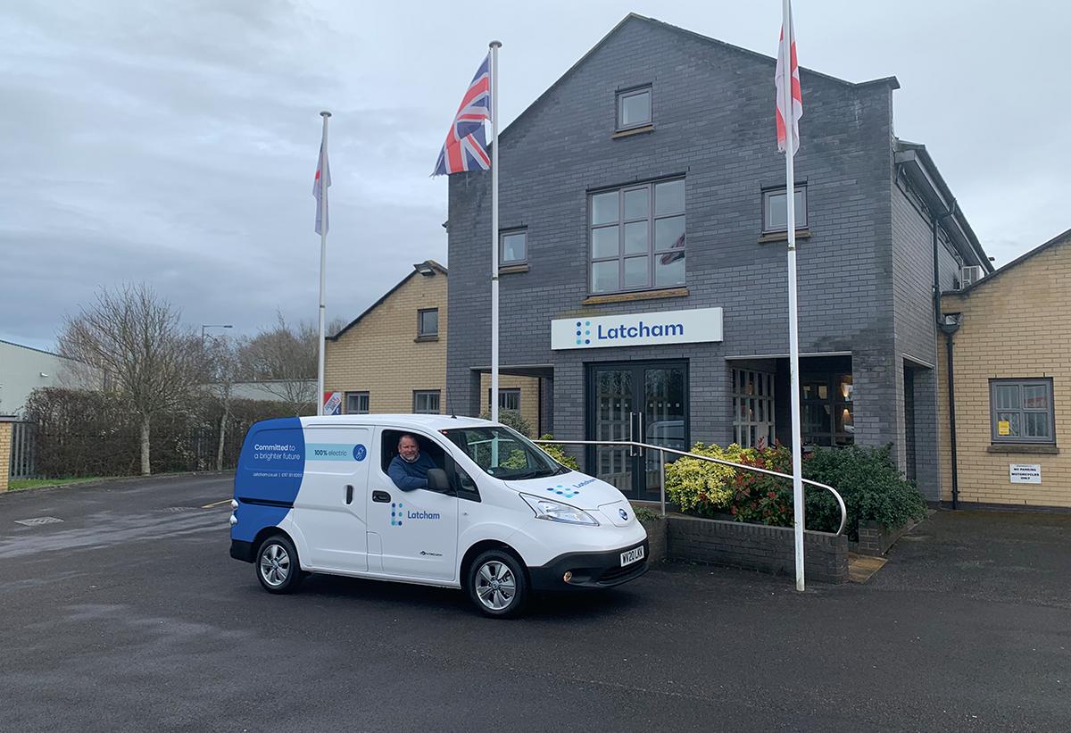 Latcham acquires a new e-van!