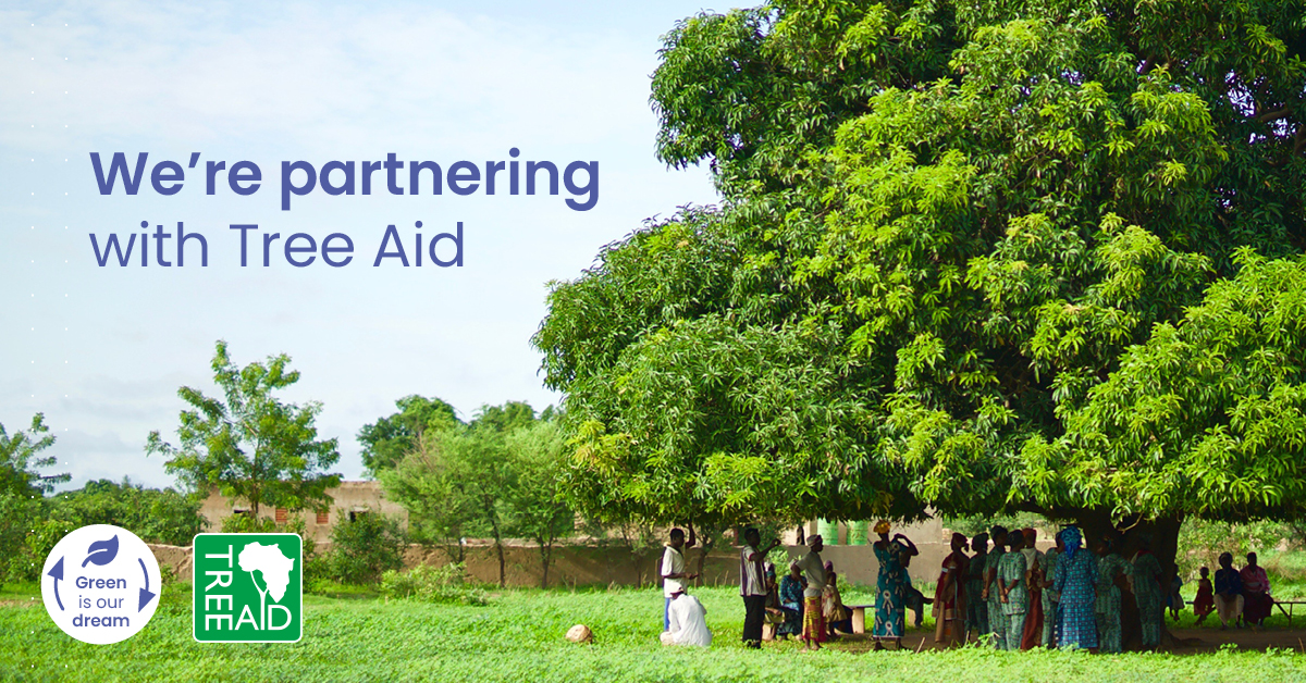 Latcham partners with Tree Aid